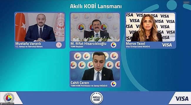 """TOBB Başkan Hisarcıklıoğlu: """"Şimdi Akıllı KOBİ ile dijitalleşmenin tam zamanı"""""""