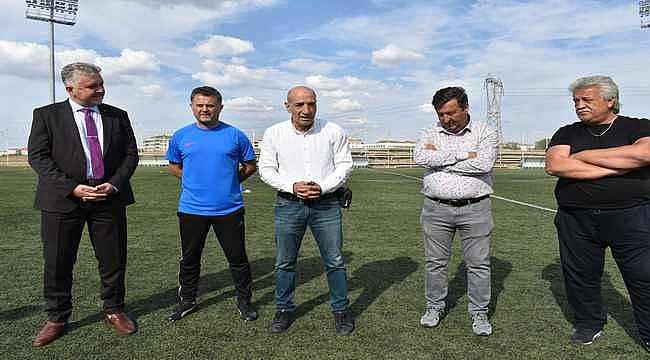 """Türk futbolunun duayen isminden Lüleburgazspor'a ziyaret: """"Başarınız insanları ateşleyecektir"""""""