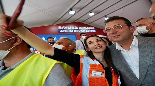 Ümraniye-Ataşehir-Göztepe Metro Hattı'nda yeni bir aşamaya gelindi