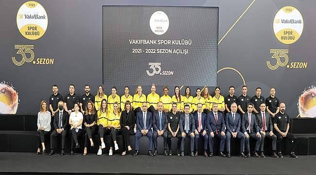 VakıfBank Spor Kulübü yeni sezon açılışında medya mensupları ile bir araya geldi