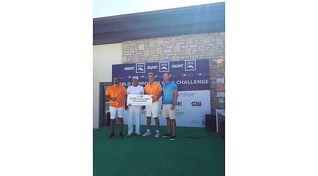 World Corporate Golf Challenge Turkey 2021'in kazananı Lumberjack takımı oldu!