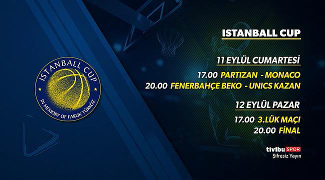 Yeni sezon öncesi turnuva heyecanı: İstanball Cup, Tivibu'da!