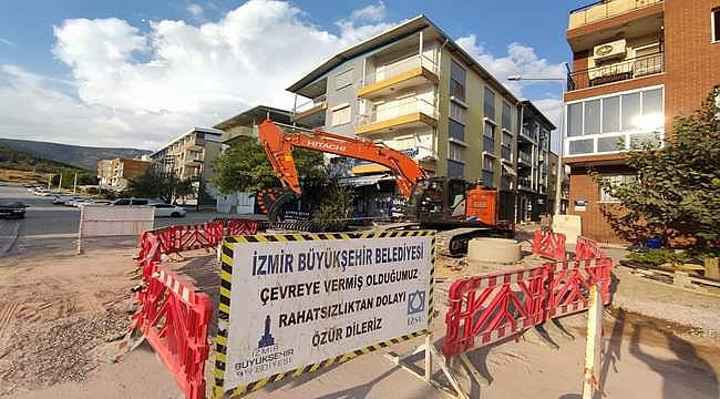 İzmir'de su baskınları önlenecek