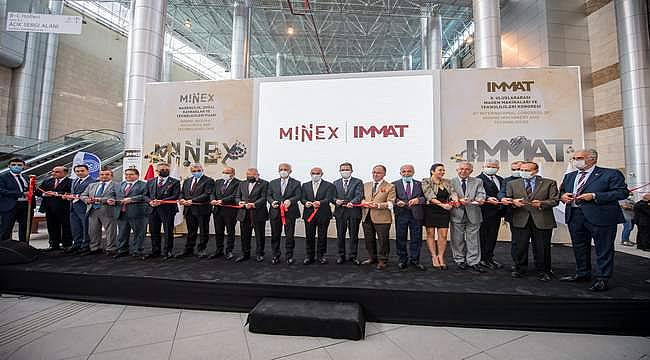 MINEX - Madencilik, Doğal Kaynaklar ve Teknolojileri Fuarı kapılarını açtı