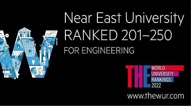 Yakın Doğu Üniversitesi dünyanın en iyi 250 üniversitesi arasında!