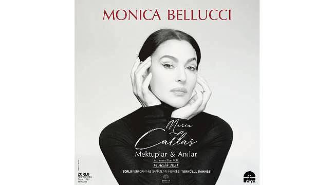 Zorlu PSM Turkcell Sahnesi, dünyaca ünlü yıldız Monica Bellucci'yi ağırlamaya hazırlanıyor