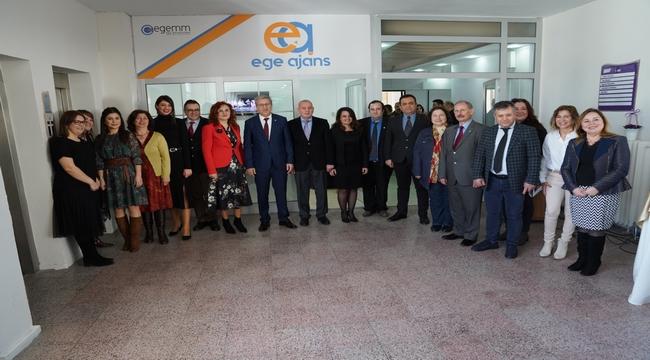 """Ege Üniversitesi Haber Ajansı """"Ege Ajans"""", 34'üncü kuruluş yıldönümüne erişmenin gururunu yaşıyor"""